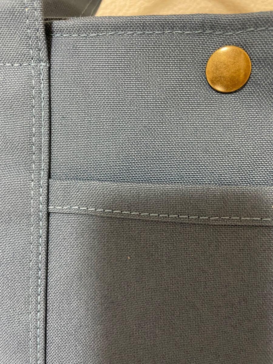 ハンドメイド トートバッグ 帆布 スナップボタン