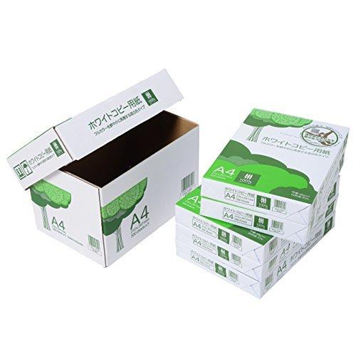【新品!最安】白(ホワイト) A4 APP 高白色 ホワイトコピー用紙 A4 白色度93% 紙厚0.09mm 2500枚(50_画像3