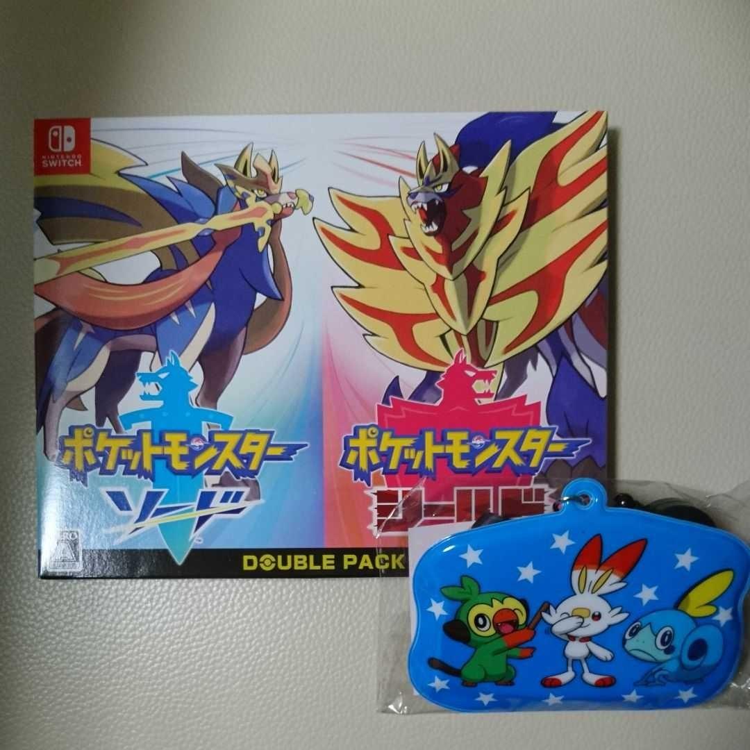 Nintendo Switch ポケットモンスター ソード シールド Wパック