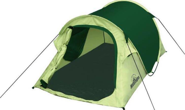 ワンタッチ テント ワンタッチテント ドームテント 10秒設営 モンターナ MONTAGNA キャンプ アウトドア グリーン
