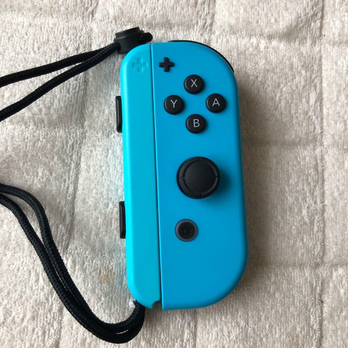 Nintendo Switch ジョイコン ネオンブルー Joy-Con 右