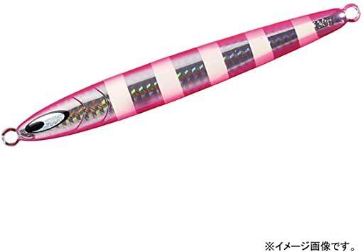 PHシャドーピンクゼブラ 100g ダイワ(Daiwa) タチウオ 鏡牙ジグ セミロング_画像1