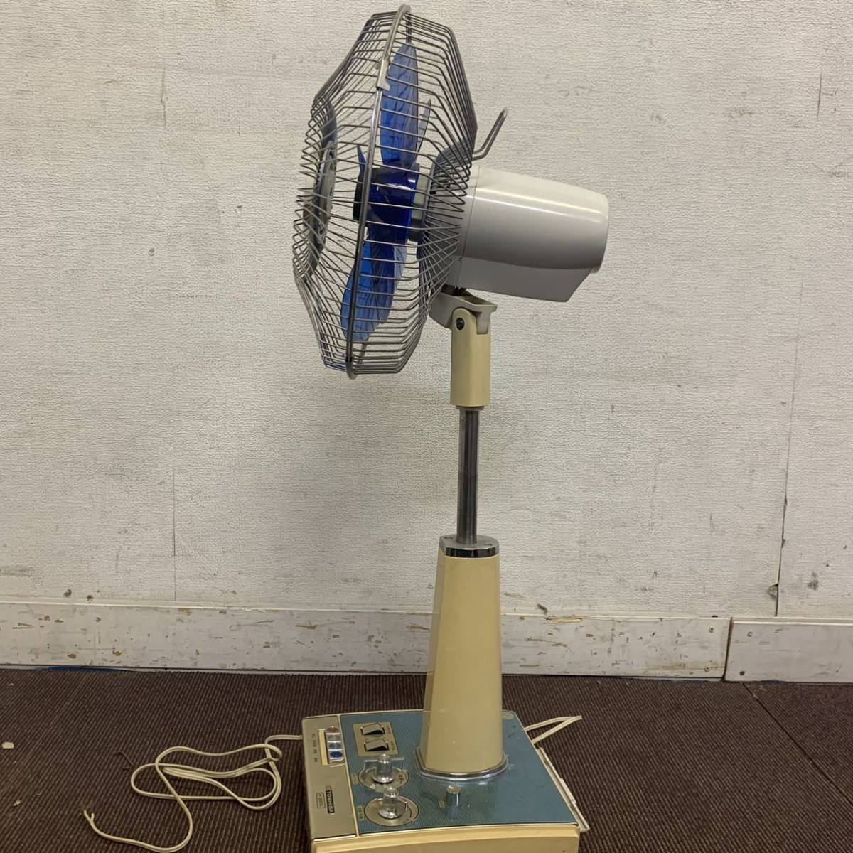 TOSHIBA 扇風機 H-30DL 昭和レトロ 東芝扇風機 レトロ扇風機 アンティーク ジャンク 格安売り切りスタート #_画像2