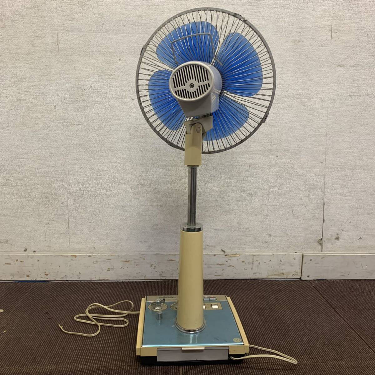TOSHIBA 扇風機 H-30DL 昭和レトロ 東芝扇風機 レトロ扇風機 アンティーク ジャンク 格安売り切りスタート #_画像3
