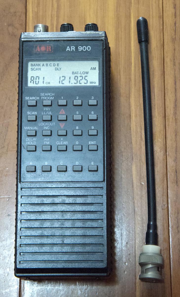 AOR AR900 受信機_動作に問題ありません。