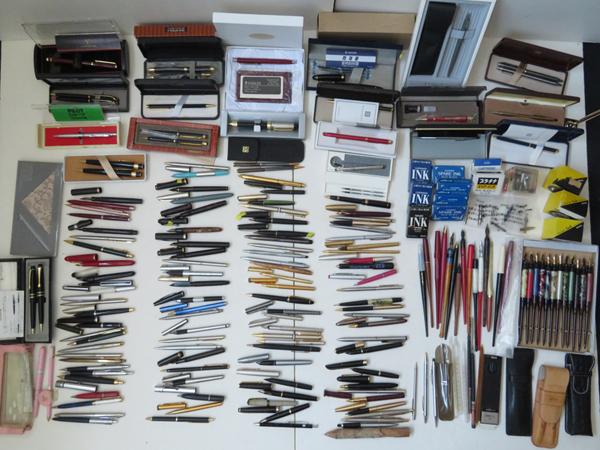 【M5852】 豪華 筆記用具 大量 まとめて 未使用箱付有 SAILOR 1911 ペン先21K MONTBLANC