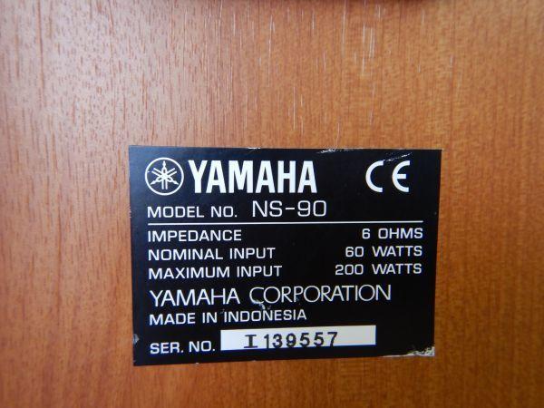 3402 YAMAHA/ヤマハ NS-90 ペア スピーカー ジャンク_画像8