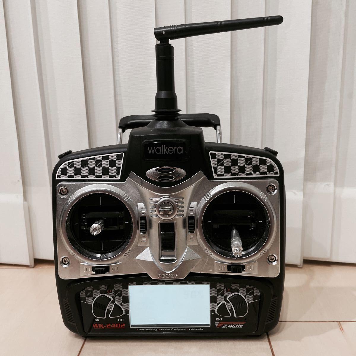 Walkera ワルケラ 送信機 プロポ コントローラー WK-2402