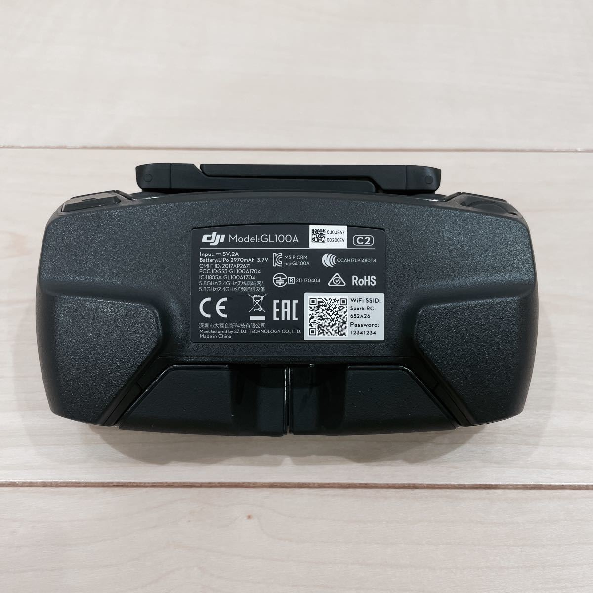 DJI SPARK コントローラー 送信機