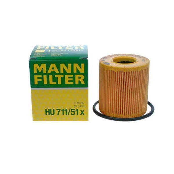 HU727/1X Cクラス(W203/C203/S203) オイルエレメント MANN Mercedes Benz メルセデスベンツ エンジン オイル フィルター 整備 メンテナンス_画像1
