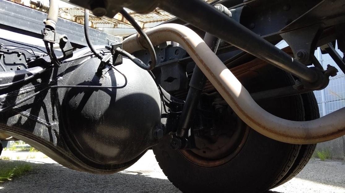 H13 アトラス(エルフ) フレーム綺麗 2台積み 積載車 車検R4/5 回送・陸送など 4HK1 ターボ いすゞ4発最強エンジン_画像6