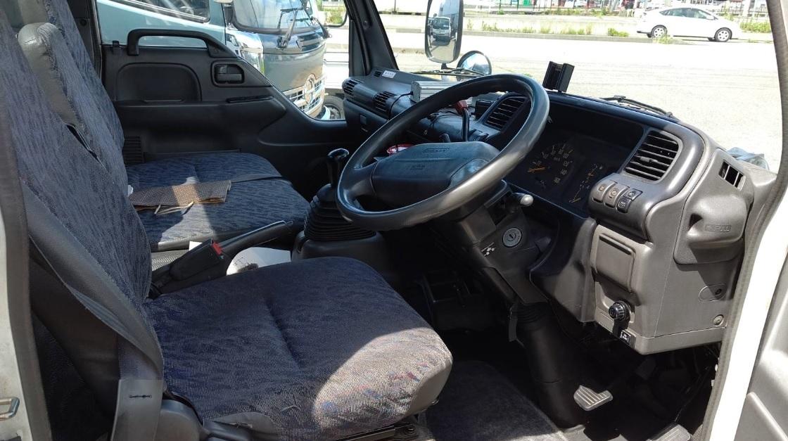 H13 アトラス(エルフ) フレーム綺麗 2台積み 積載車 車検R4/5 回送・陸送など 4HK1 ターボ いすゞ4発最強エンジン_画像7