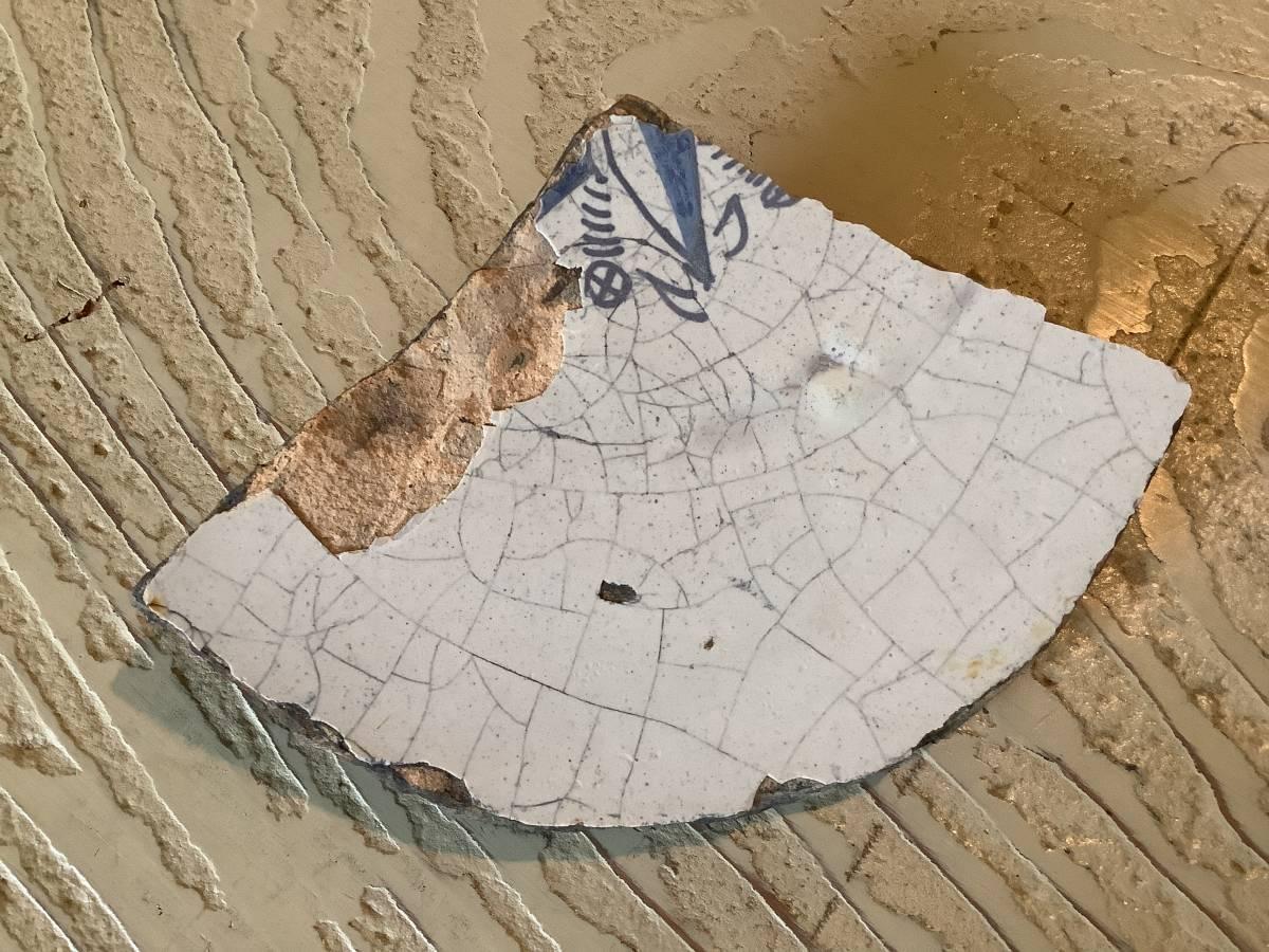 オブジェ ヨーロッパ 陶片 その1_画像1