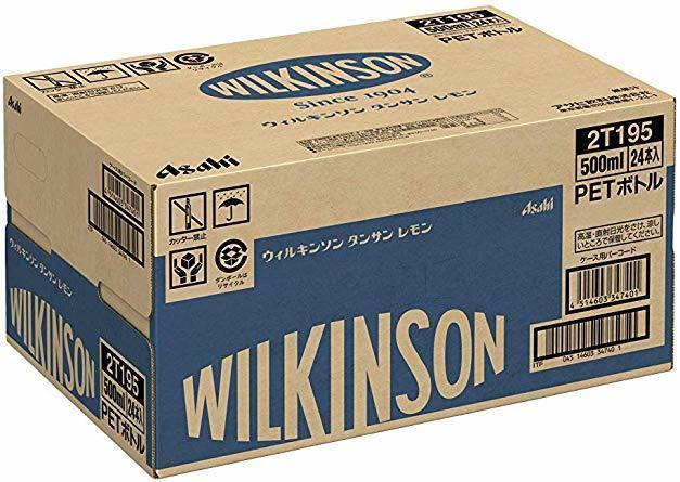 新品500ml×24本 アサヒ飲料 ウィルキンソン タンサン レモン 炭酸水 500ml×24本LU06_画像8