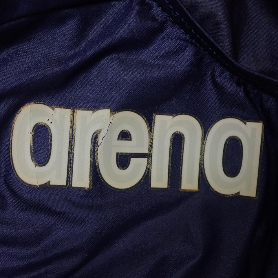 ●未使用 arena/アリーナ X-FLAT 女子 競泳水着 L/ダークネイビー/ARN-1001W/ハイカット/スイムウェア/水泳#1603900061_画像6