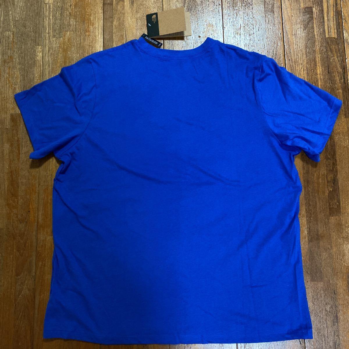 THE NORTH FACE 半袖Tシャツ ザノースフェイス  海外限定 男女兼用 ビッグロゴ Tee トップス Tシャツ ノース
