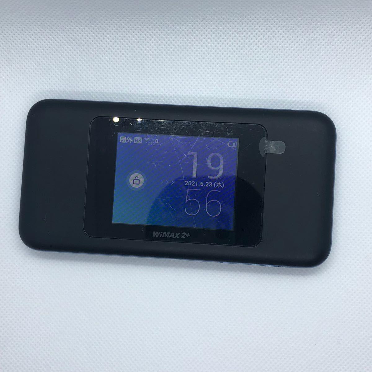 Speed Wi-Fi NEXT W06 black×blue