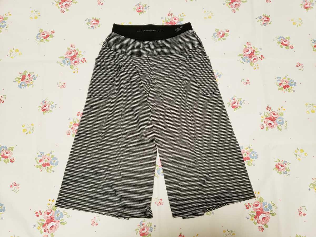 swap meet market スワップミートマーケットワイド ガウチョパンツ 110サイズ 日本製_画像1