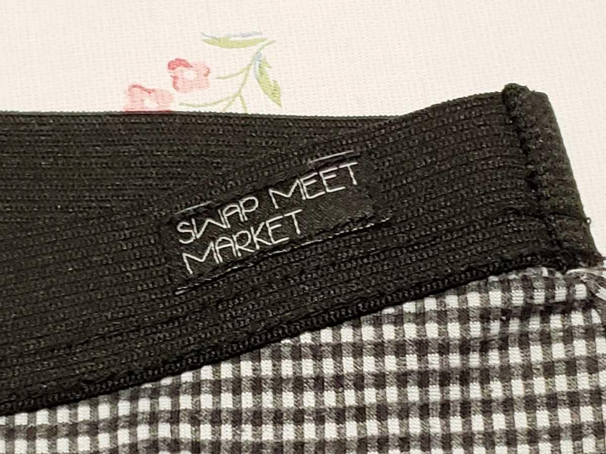 swap meet market スワップミートマーケットワイド ガウチョパンツ 110サイズ 日本製_画像4