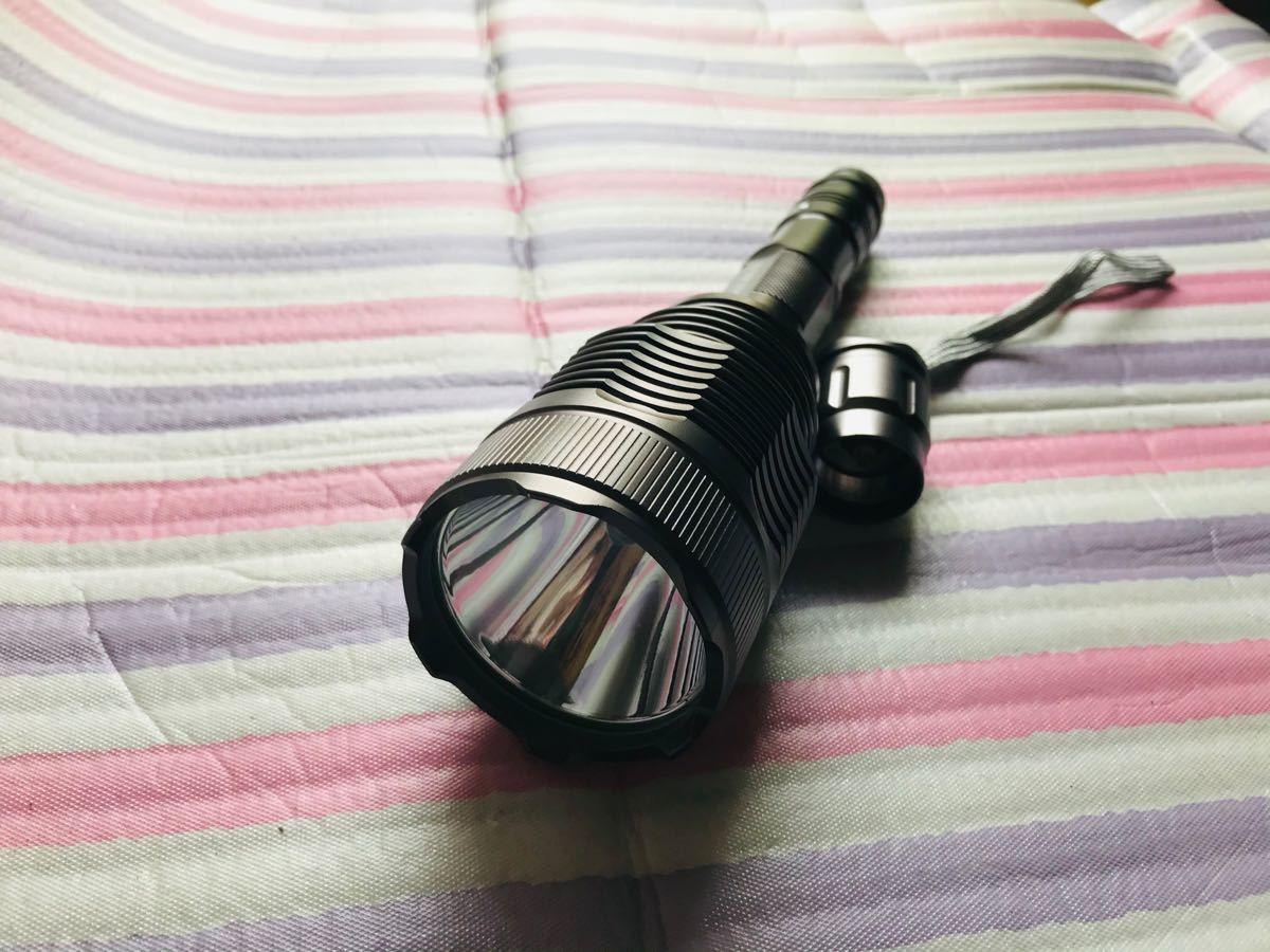 懐中電灯 LED 強力 cree t6 led電球 防災グッズ フラッシュライト ハンディーライト