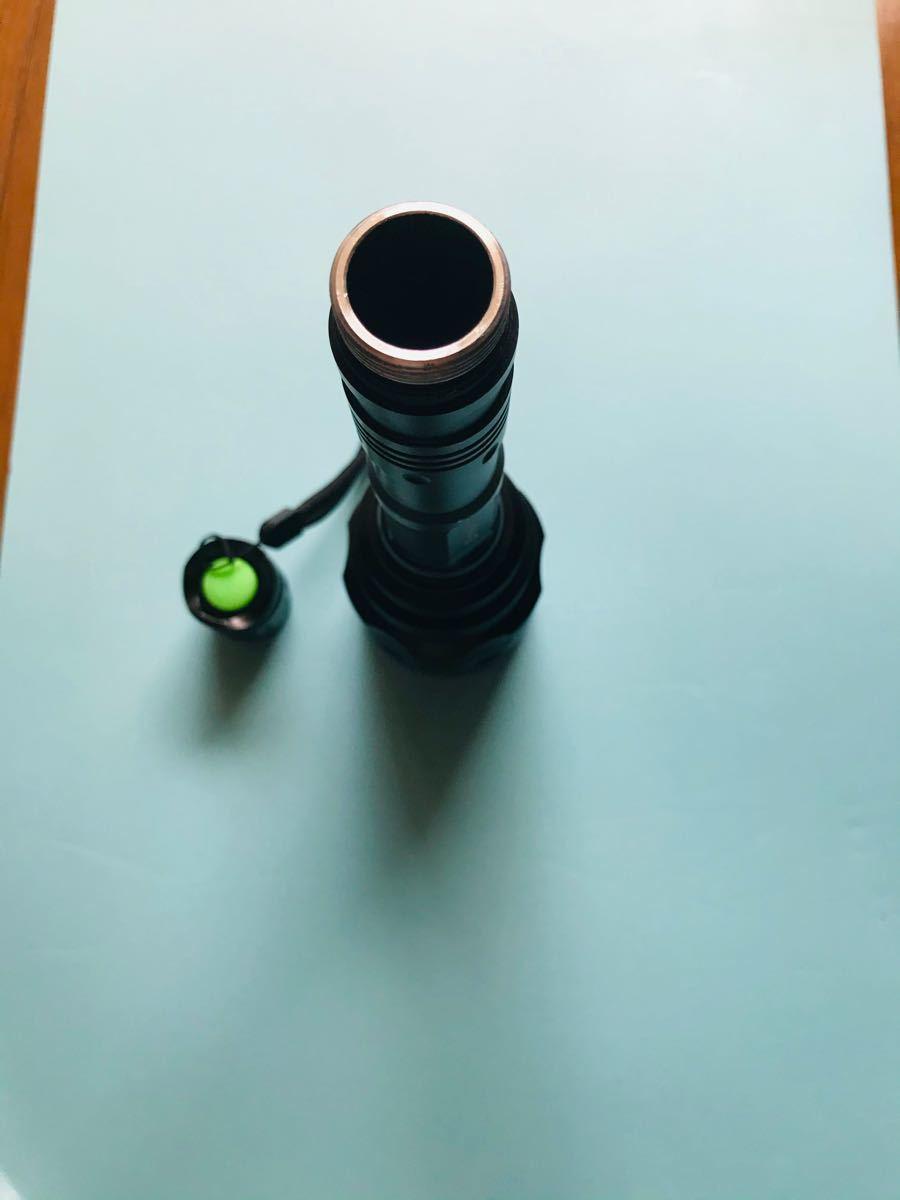 懐中電灯 LED 強力 led電球 防災グッズ フラッシュライト ハンディーライト