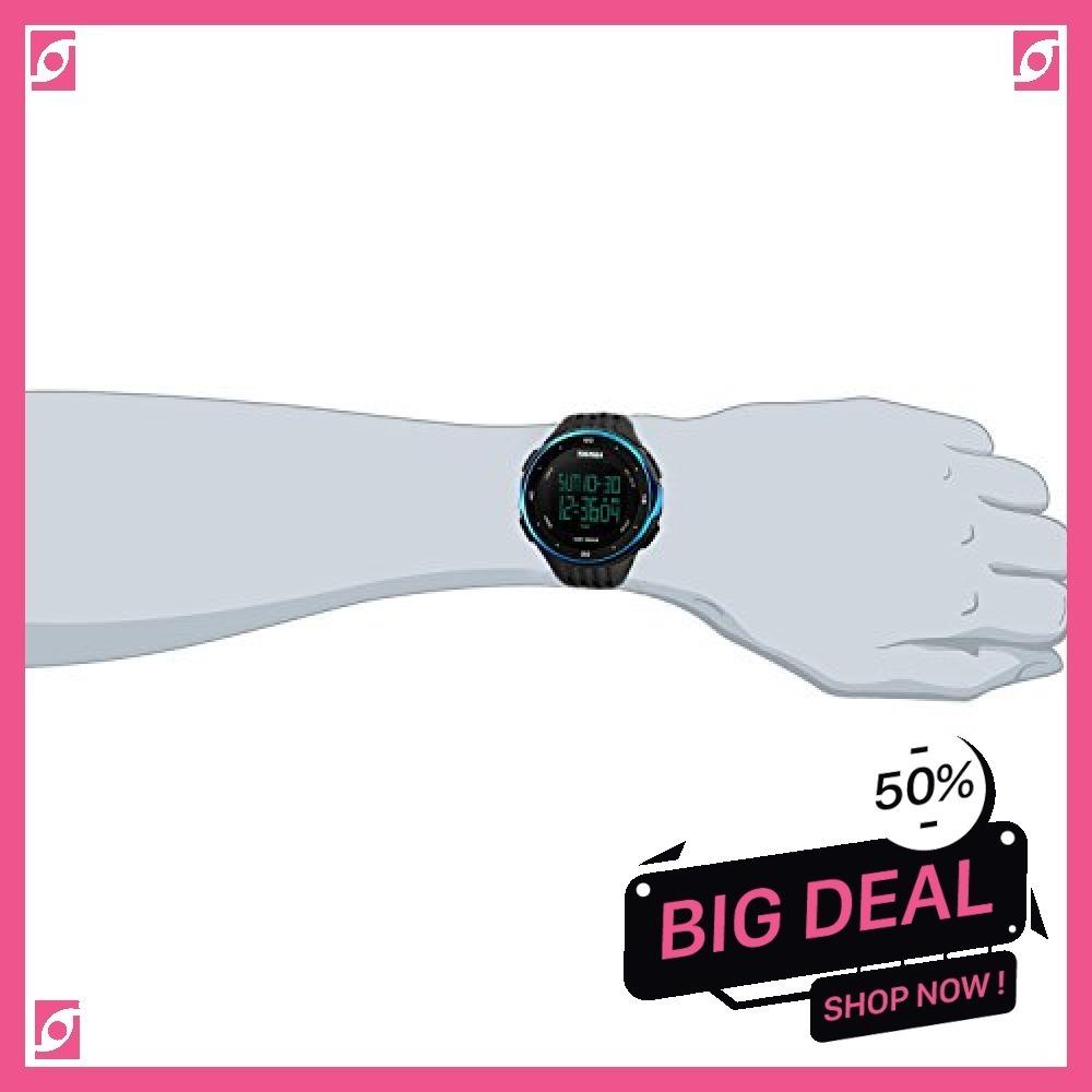 新品 ブルー Timever(タイムエバー)デジタル腕時計 防水 メンズ スポーツ うで時計 多機能付き ストッ8SUC_画像4