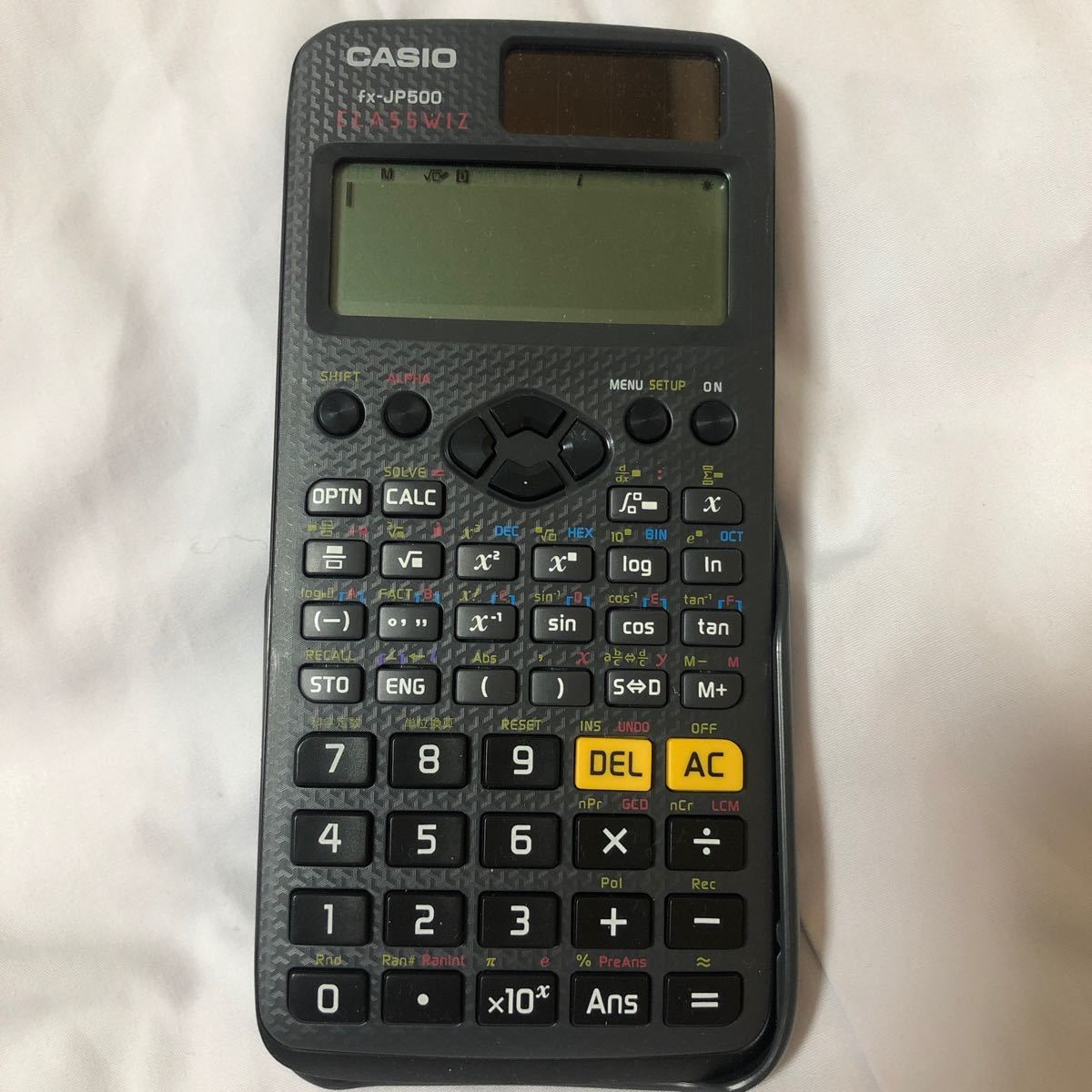 CASIO 関数電卓 FX-JP500 カシオ関数電卓 カシオ