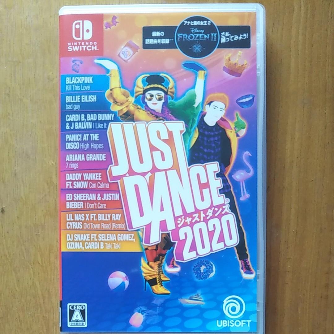 ジャストダンス2020 switch
