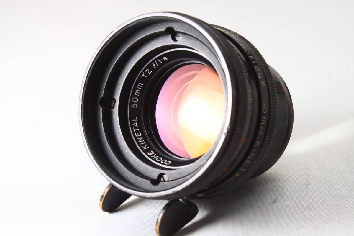 Arriflex STD COOKE KINETAL 50mm T2/F1.8