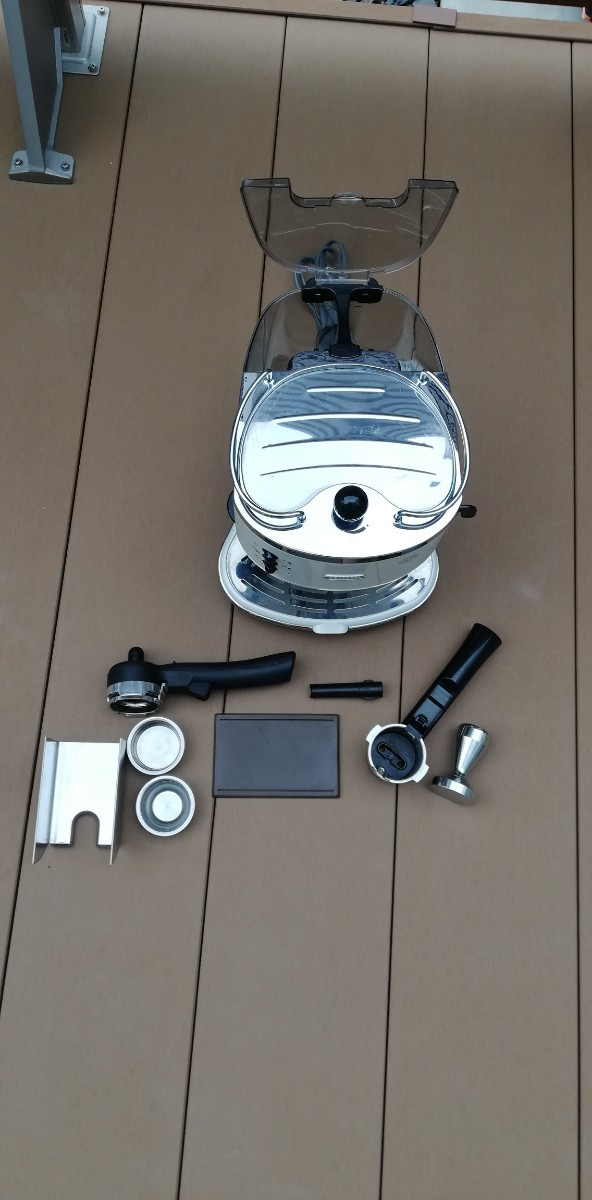 デロンギ ECO310W DeLonghi コーヒーメーカー エスプレッソ カプチーノ ECO