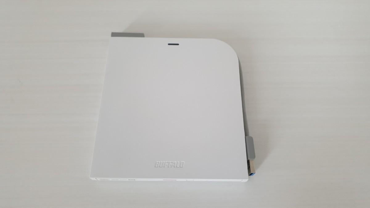 BUFFALO 外付け DVD/CDドライブ DVSM-PTV8U3-WH/N