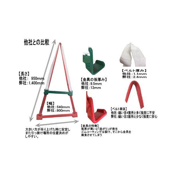 「強化スリングハーネス*カワサキ水上バイクの吊り上げ金具!!」の画像3