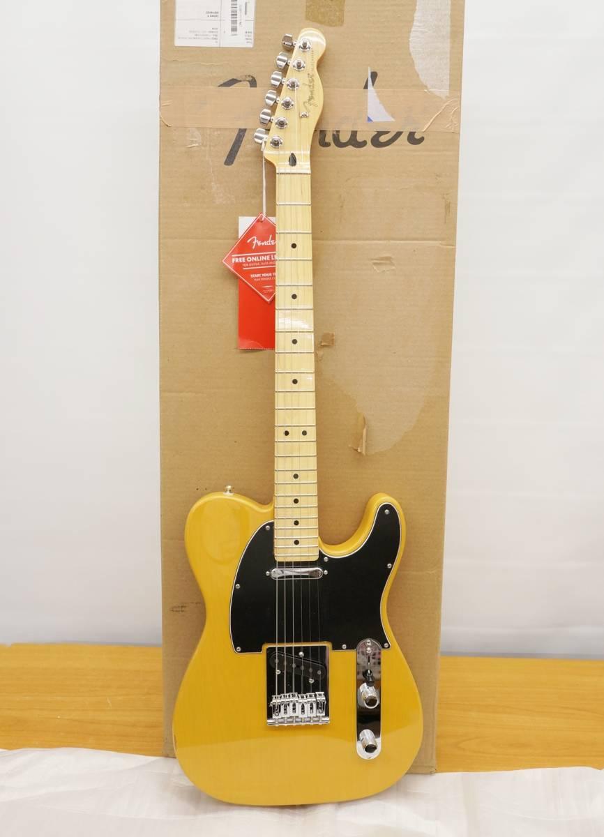 ■□新品 訳あり Fender フェンダー エレキギター Player Telecaster Maple Fingerboard, Butterscotch Blonde□■