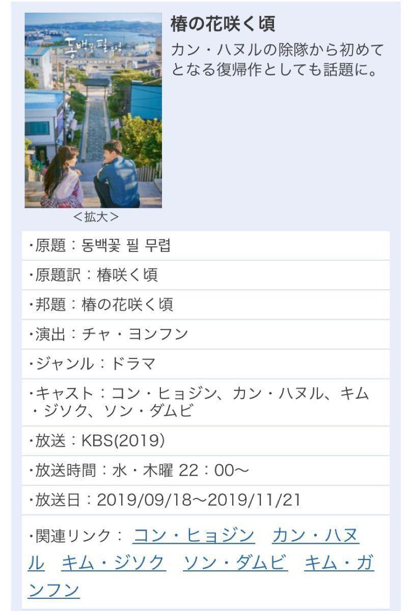 韓国ドラマブルーレイ【椿の花咲く頃】韓国ドラマの最大賞、ペクサン・アワードで「愛の不時着」「梨泰院クラス」に圧勝した話題作