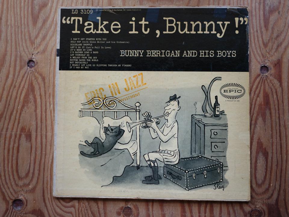 米 / 両溝 / mono / Bunny Berigan and His Boys / Take it,Bunny! / LG-3109(Epic)