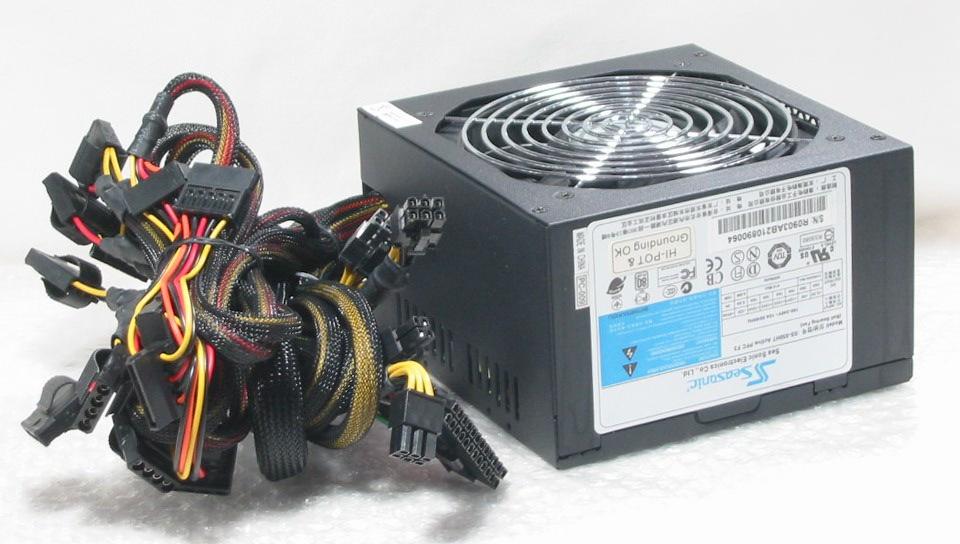 Seasonic SS-550HT 550W 80PLUS SLI対応 電源ケーブル無料 動作保障 送料520円~ D10 _画像2