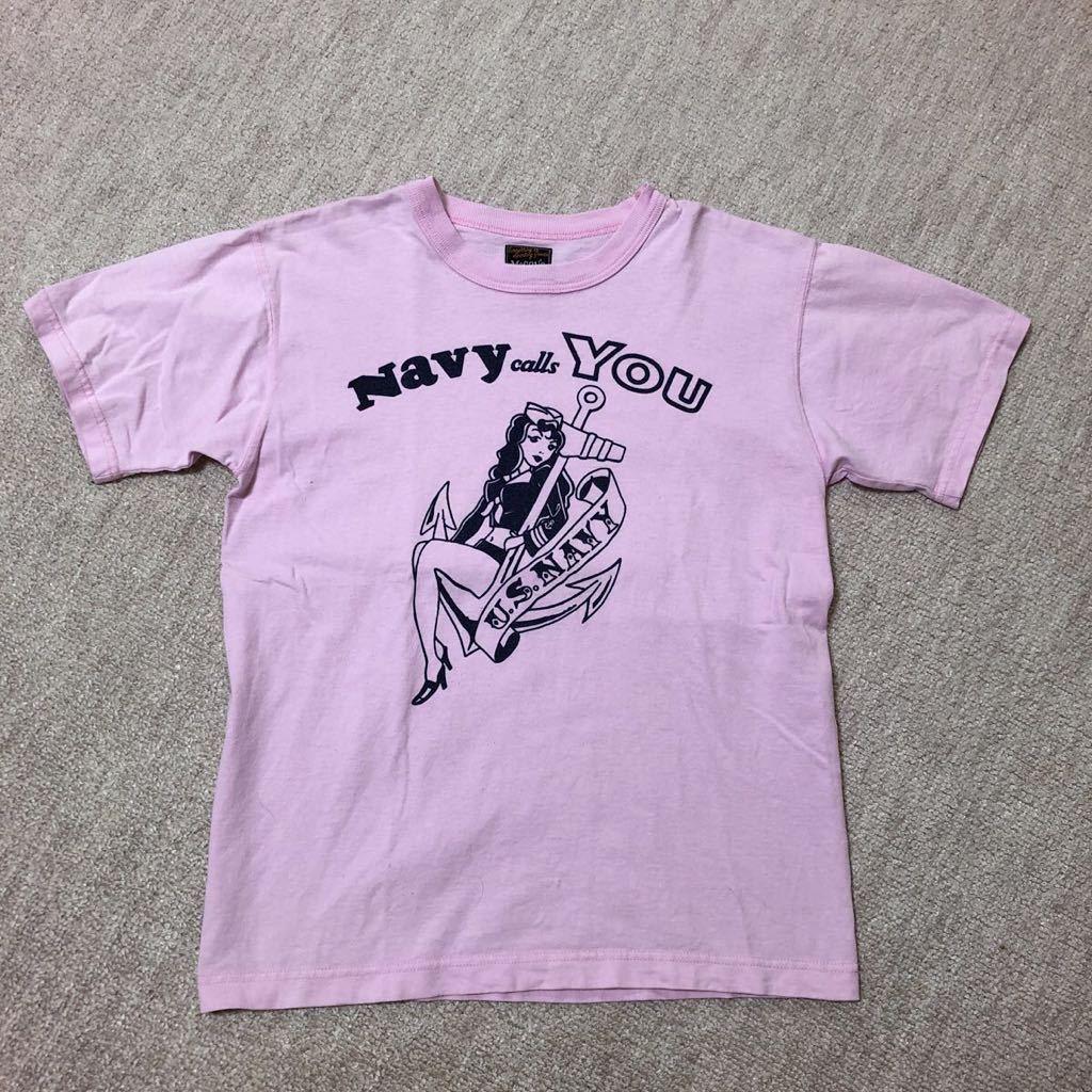 THE REAL McCOY'S 半袖Tシャツ 36/検 リアルマッコイズ バズリクソンズ トイズマッコイ_画像1