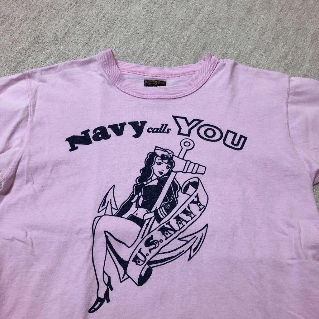 THE REAL McCOY'S 半袖Tシャツ 36/検 リアルマッコイズ バズリクソンズ トイズマッコイ_画像2