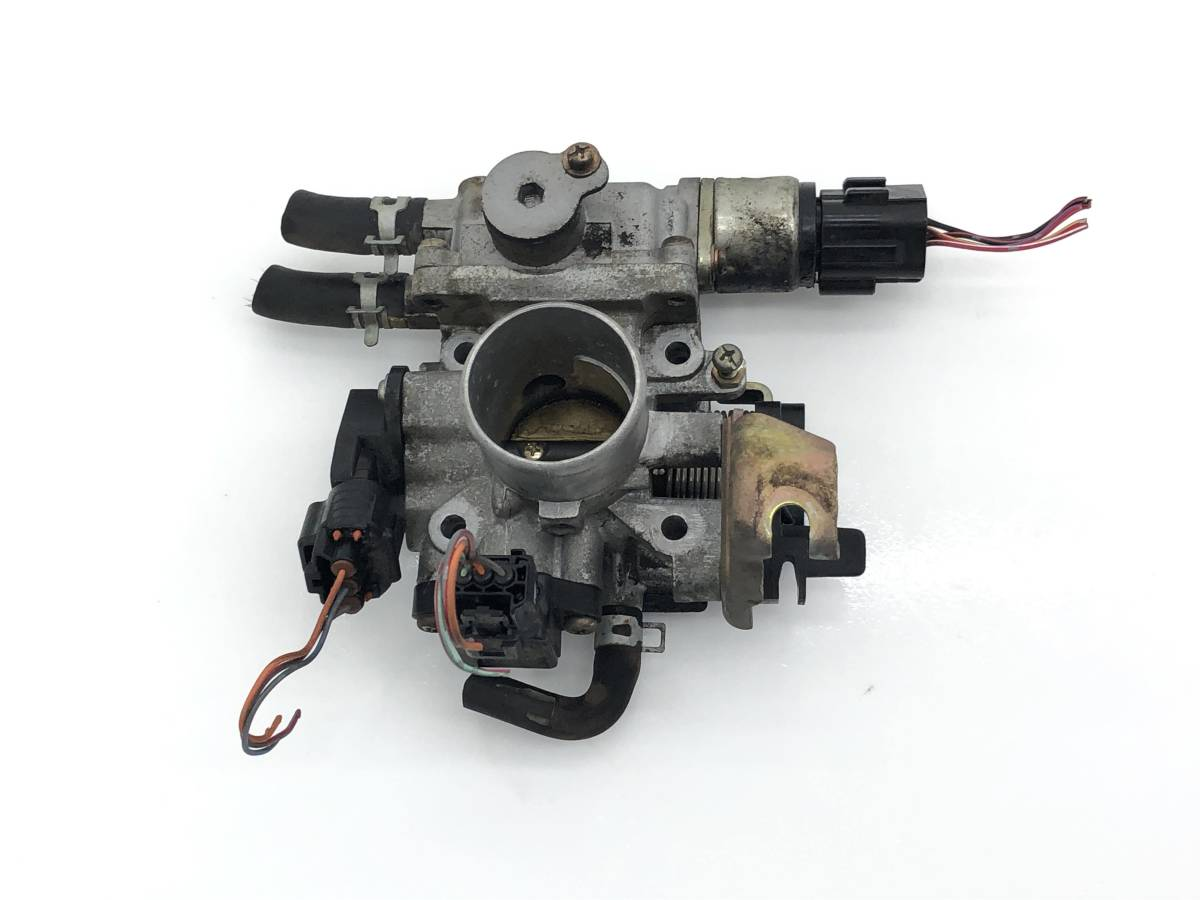 _b61506 アルトラパン ターボ TA-HE21S スロットルボディ センサー付き K6A マツダ スピアーノ HF21S_画像1