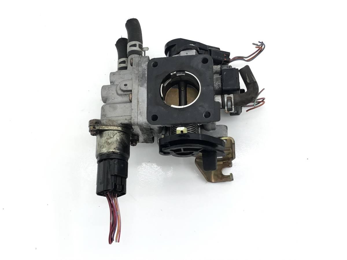 _b61506 アルトラパン ターボ TA-HE21S スロットルボディ センサー付き K6A マツダ スピアーノ HF21S_画像4
