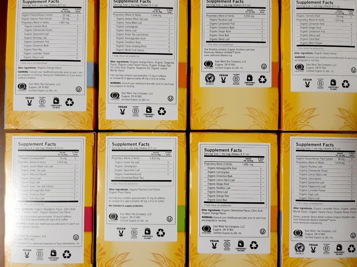 ☆★Yogi Tea 16種16袋 ヨギティー ベッドタイム ポジティブエナジー チャイルイボス ハニーチャイ 他