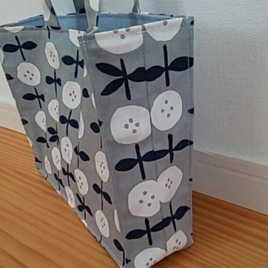 ハンドメイド 紙袋風 ミニ バッグ トートバッグ ハンドバッグ