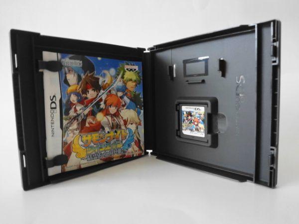 送料無料 即決 任天堂 ニンテンドー DS NDS サモンナイト ツインエイジ 精霊たちの共鳴 バンプレスト RPG レトロ ゲーム ソフト Y2