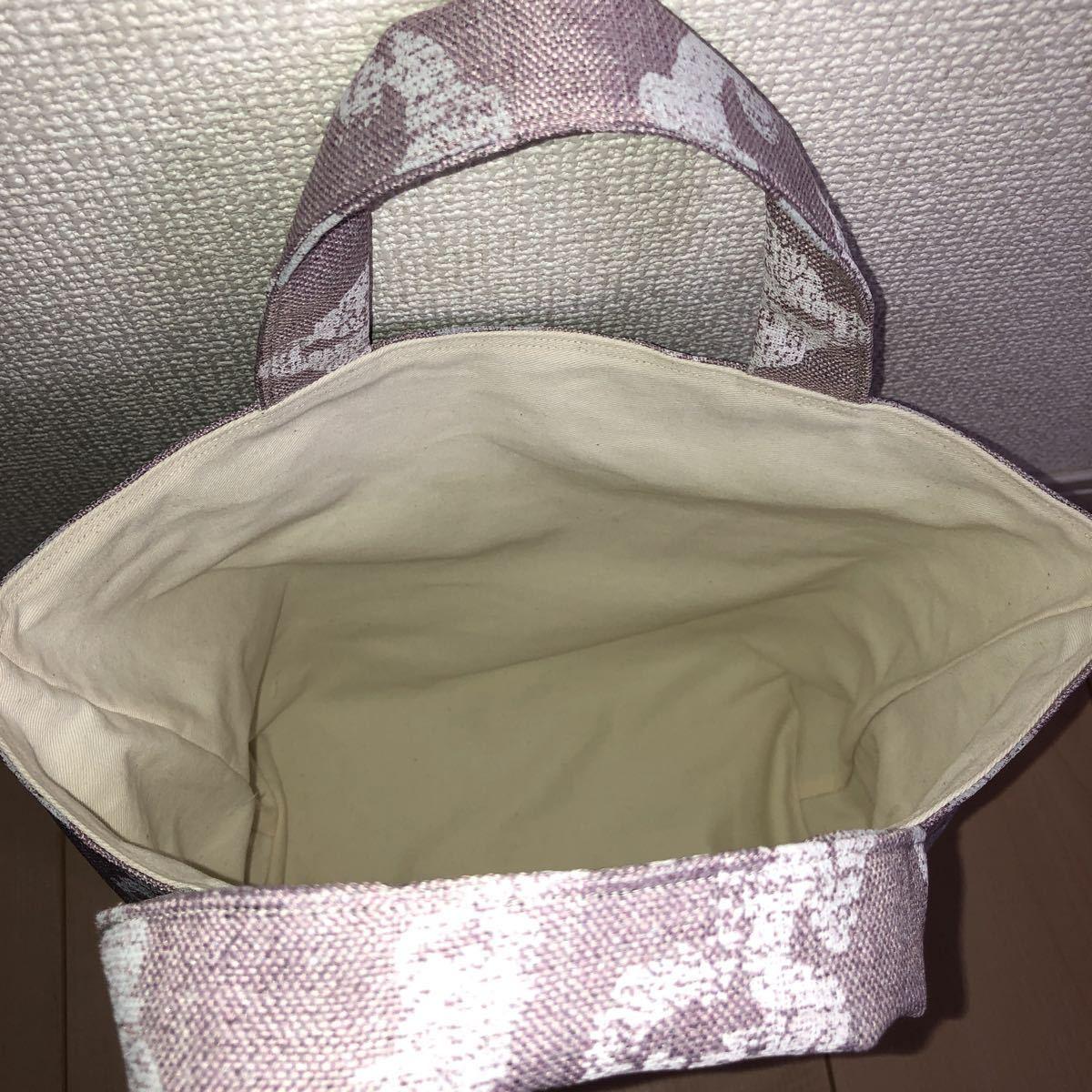 ミニトートバッグ ハンドメイド トートバッグ ランチバッグ お散歩バッグ