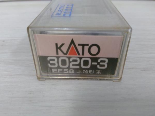 現状品 Nゲージ KATO EF58形電気機関車 (上越線仕様・茶色) 3020-3_画像1