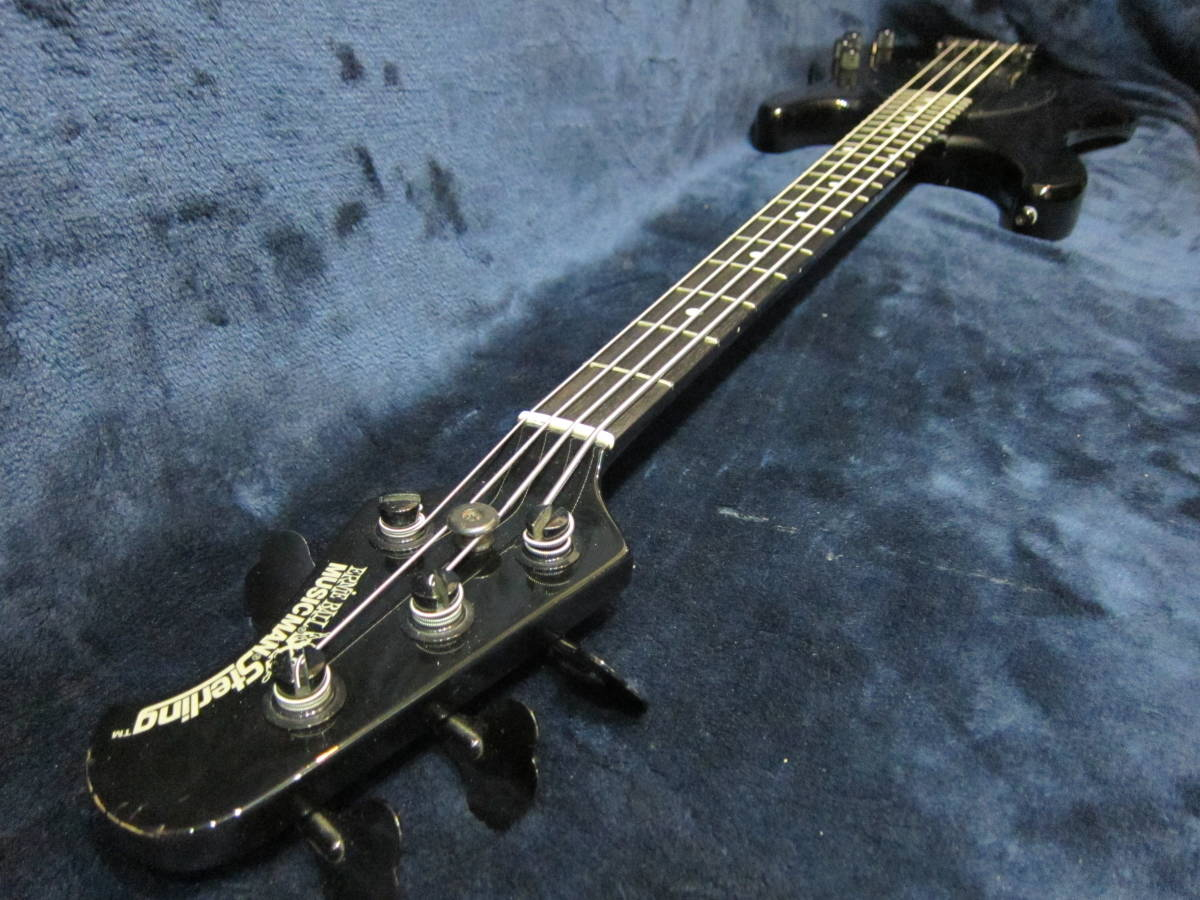 thumbnail 6 - Prompt decision  Musicman USA Sterling Limited Edition Black Onyx  Compact Sting
