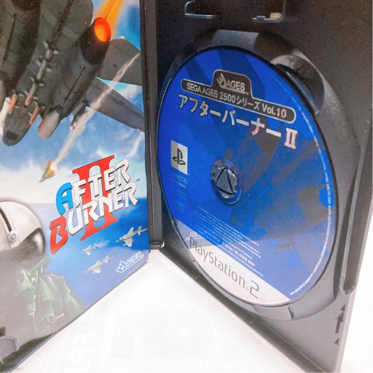 PS2 アフターバーナー2 【プレステ2 AFTER BURNERⅡ】プレイステーション2