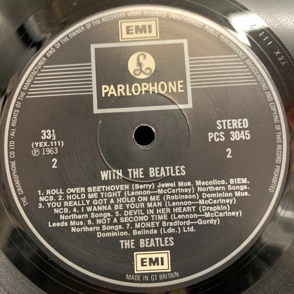 【即決】 BEATLES / WITH THE BEATLES (UK盤)_画像4