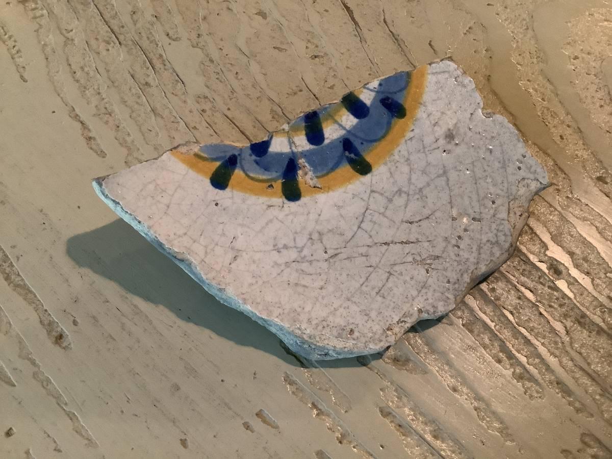 オブジェ ヨーロッパ 陶片 その2_画像1