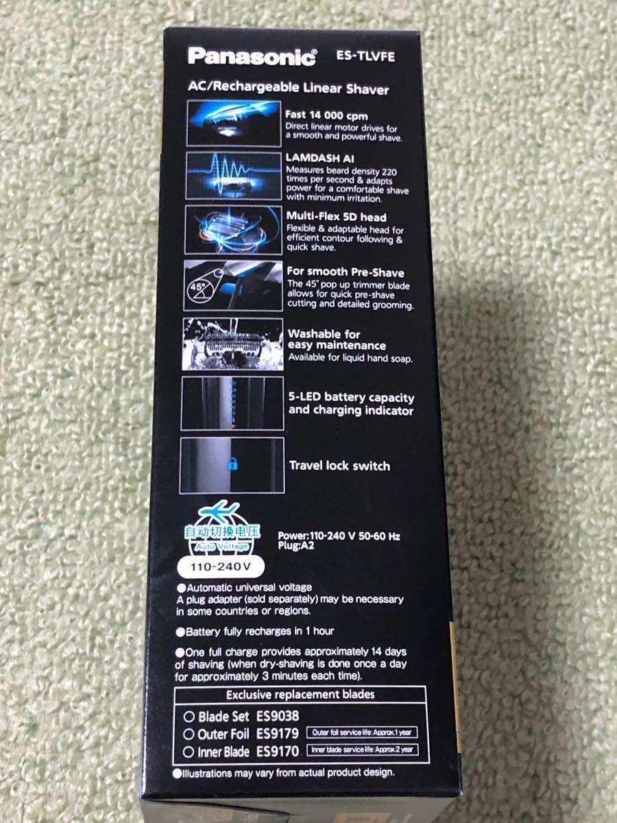 パナソニックメンズシェーバー ラムダッシュ海外仕様モデル ES-TLVFE 5枚刃 5枚刃 電気シェーバー